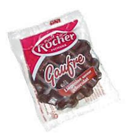 Gaufre Liégeoise chocolat