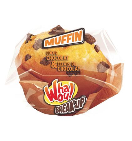 Muffin nature et maxi pépites choco